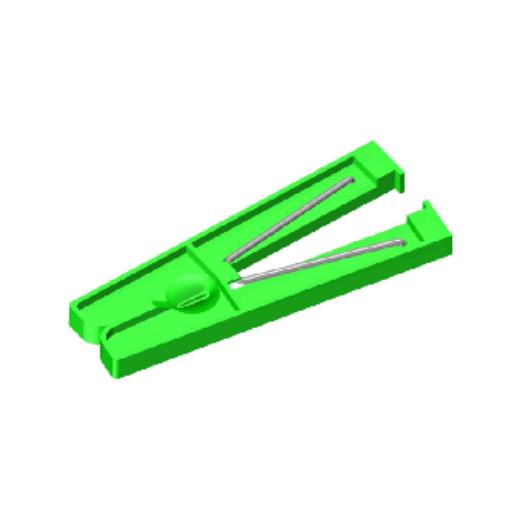 MPO fiber clamp